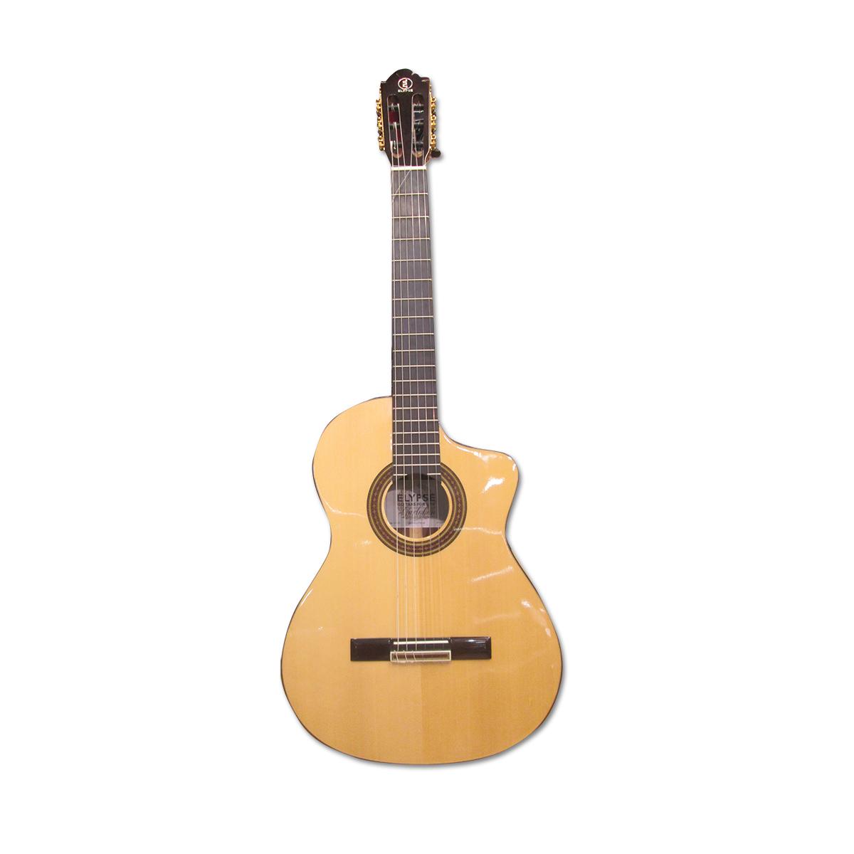 Elypse - Guitare classique électro-acoustique Garlaban Naturelle