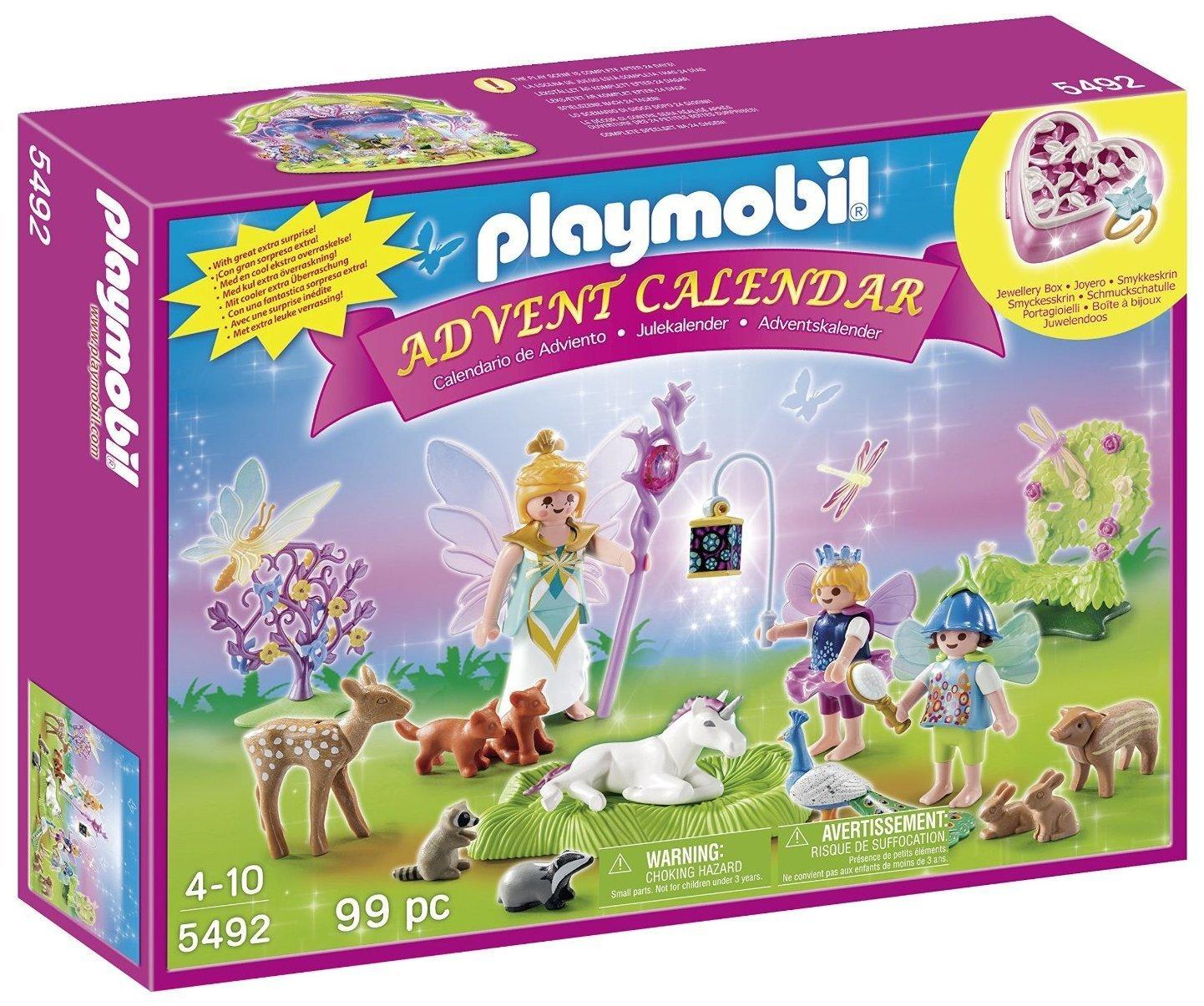 Calendrier de l'avent - Fées avec licorne - Playmobil - 5492
