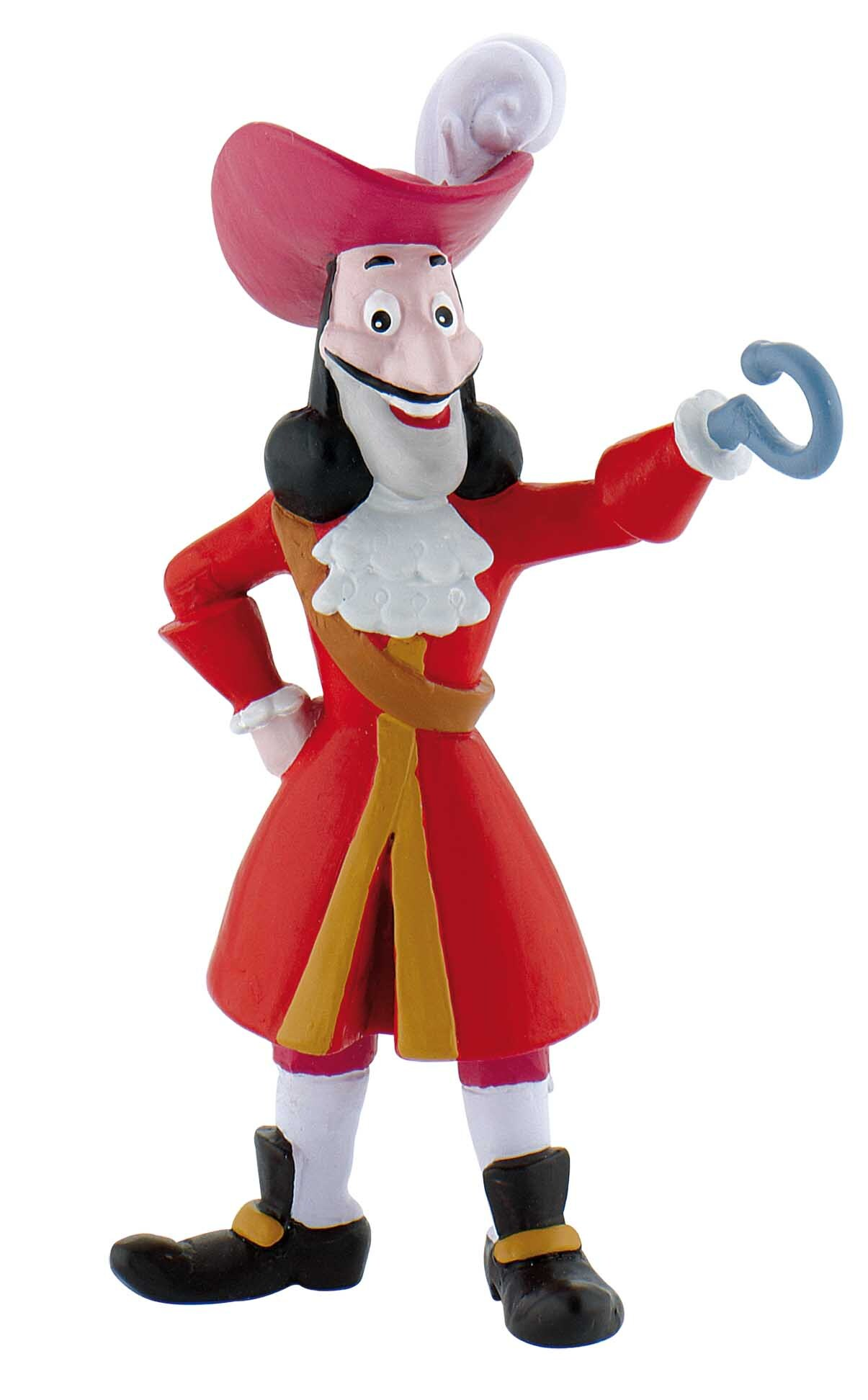 Figurine Jake et les pirates Disney - Capitaine Crochet - 10 cm