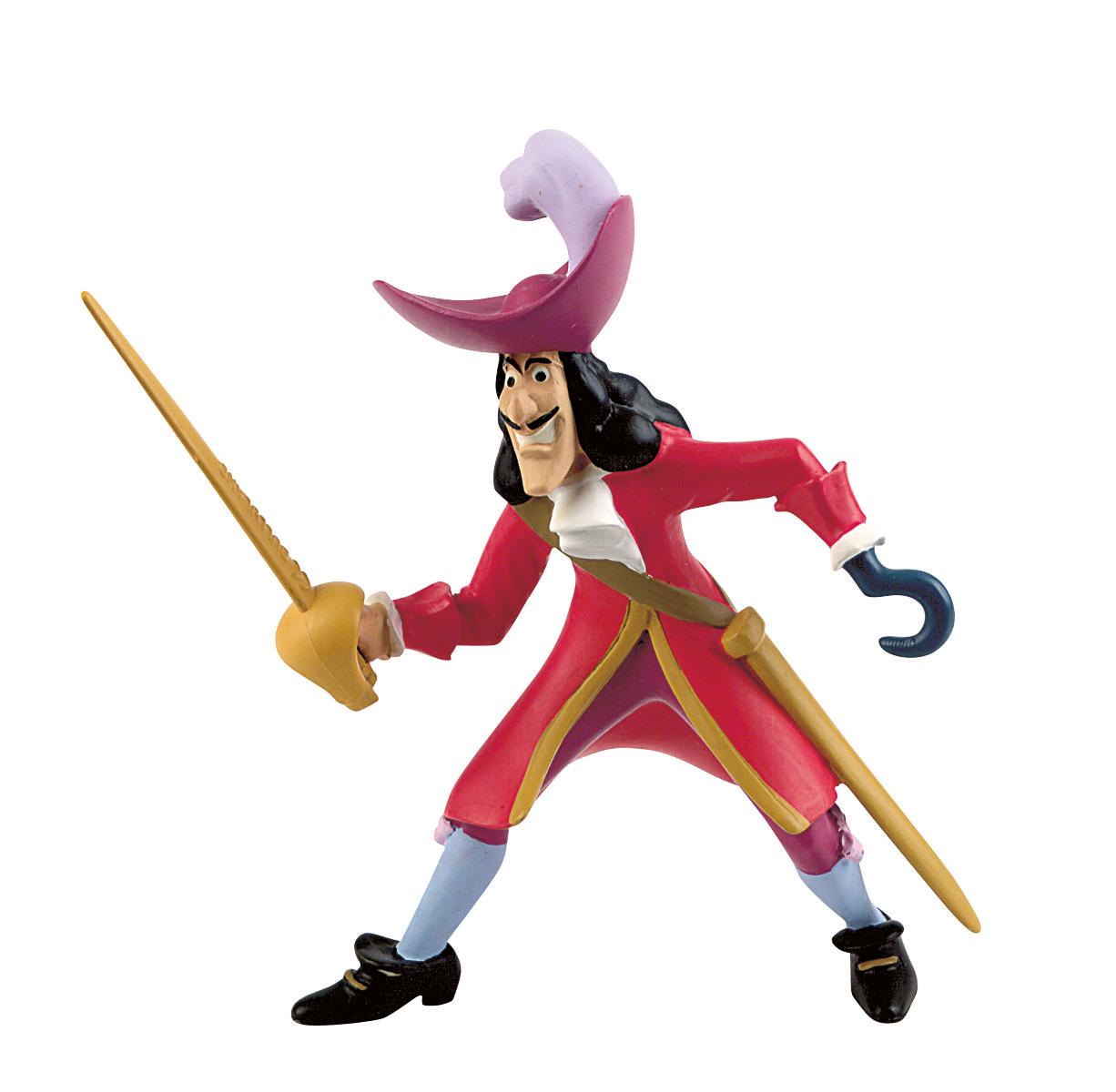 Figurine Peter Pan Disney - Capitaine Crochet - 10 cm