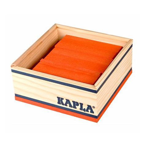 40 planchettes Kapla - orange