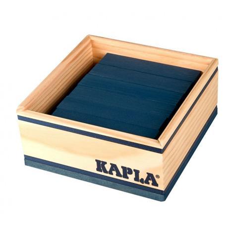 40 planchettes Kapla - bleu foncé