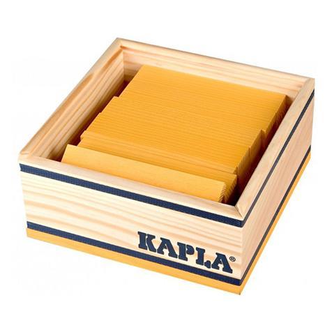 40 planchettes Kapla - jaune