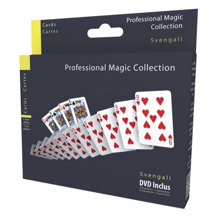 Cartes Svengali - Magie