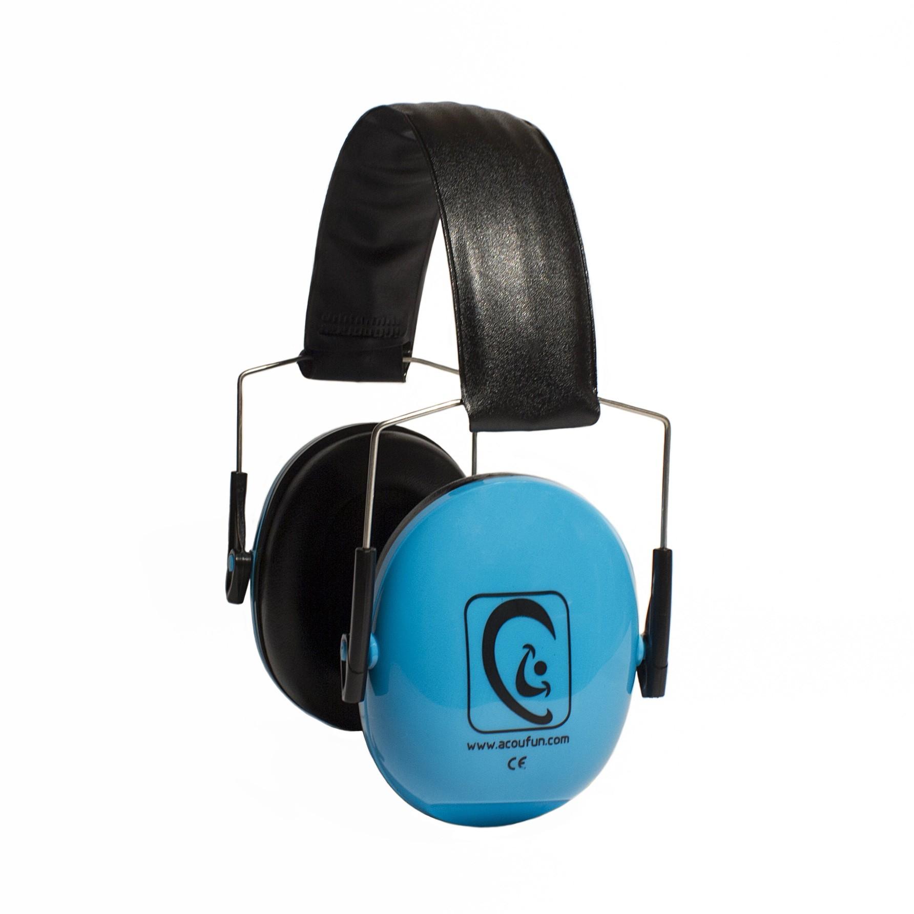 Acoufun - Casque atténuateur HP25 Bleu