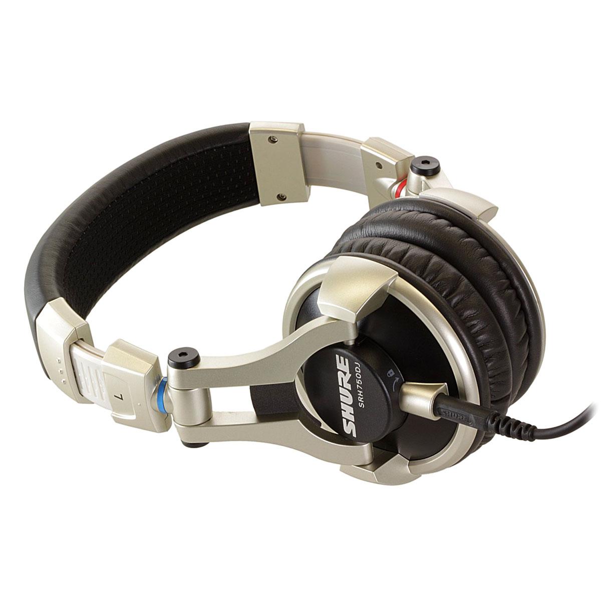 Shure - Casque DJ pro - Noir- SRH750DJ