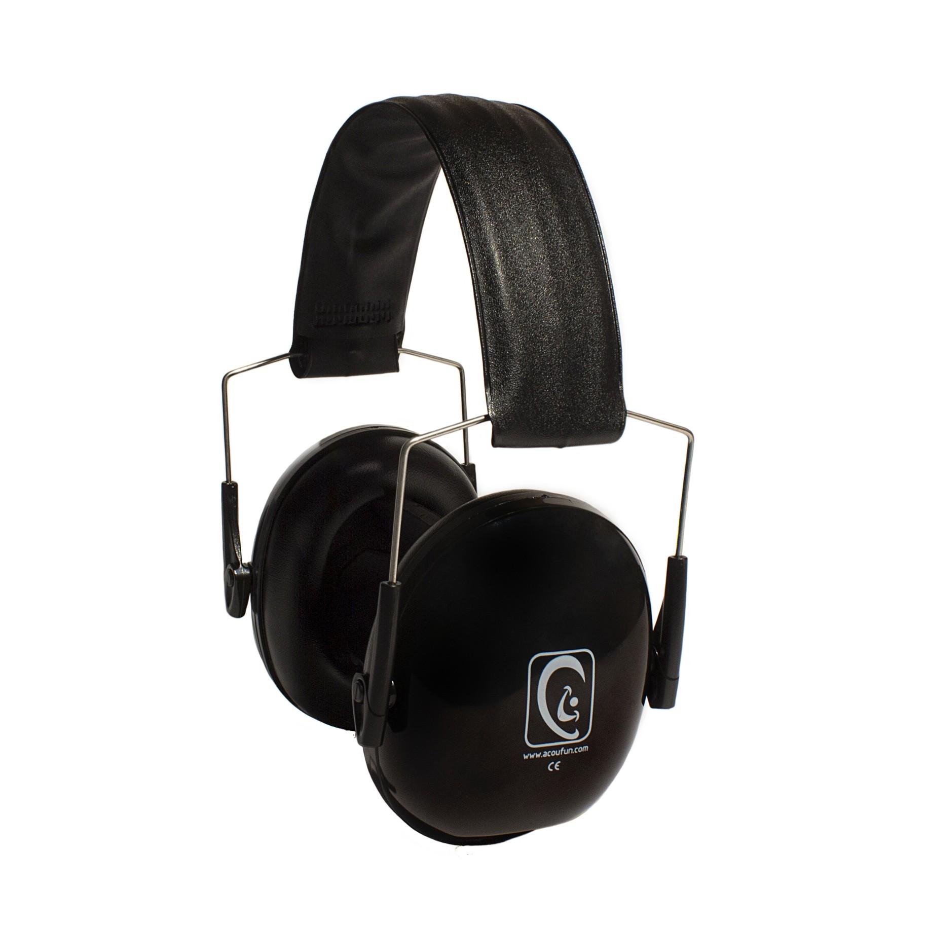 Acoufun - Casque atténuateur HP25 Noir