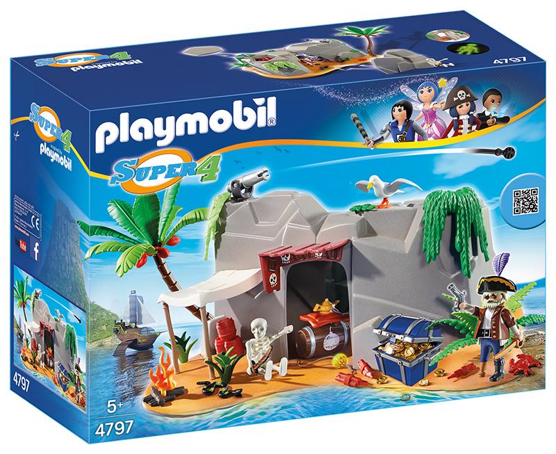 Caverne des pirates - Playmobil - 4797