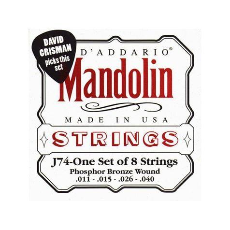 D\'Addario - Cordes Mandoline Bluegrass - J74