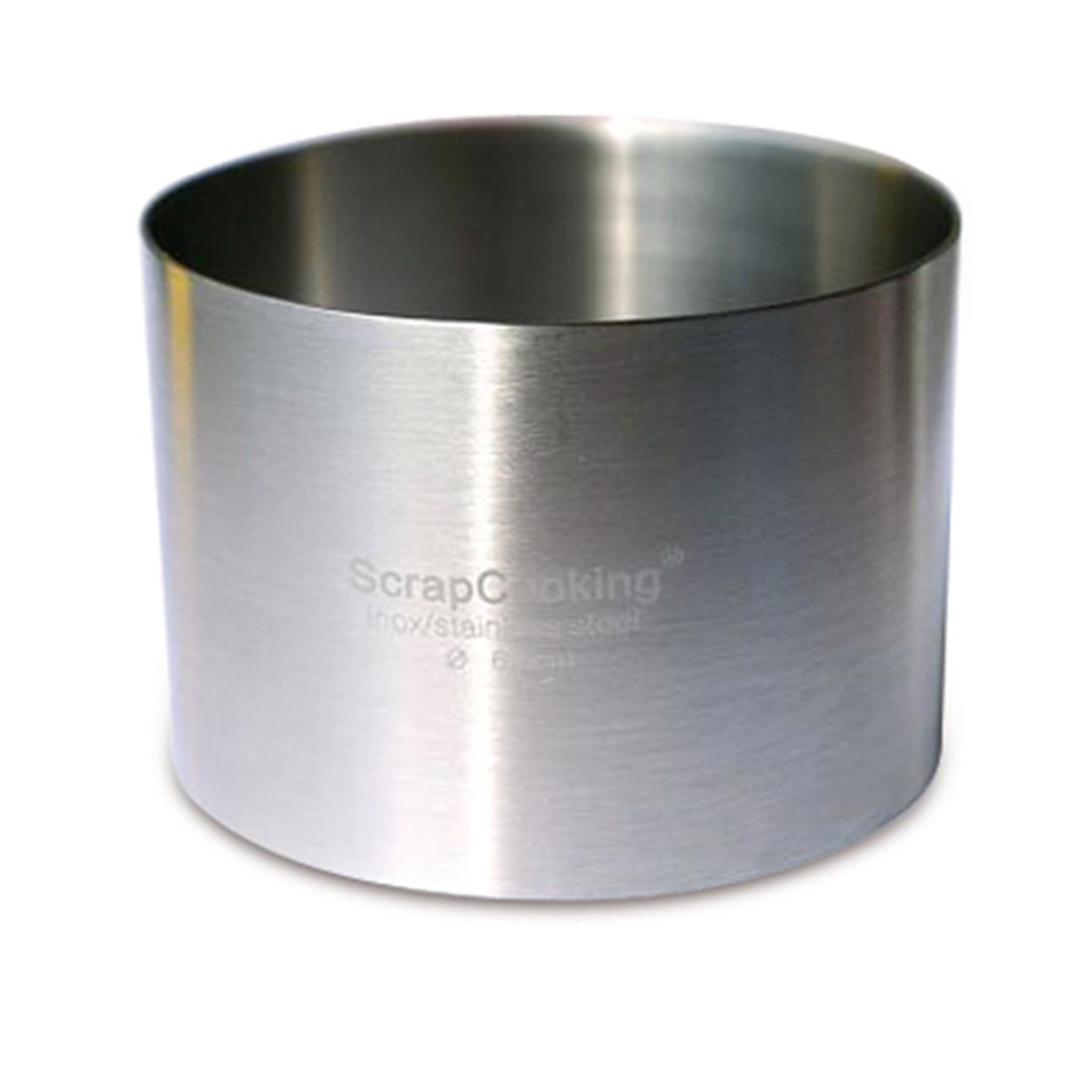 Image du produit Cercle Inox - 8 cm - Scrapcooking