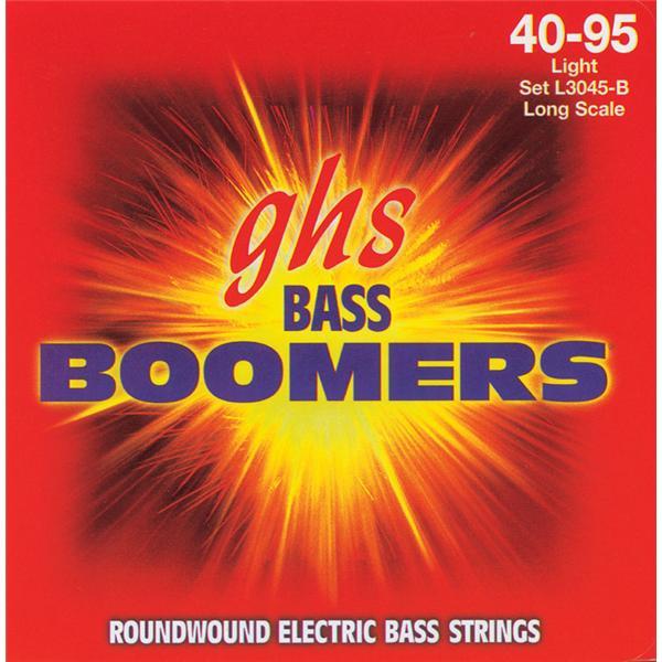 Jeu de cordes pour basse électrique - 3045L - Light - 40/95 - GHS
