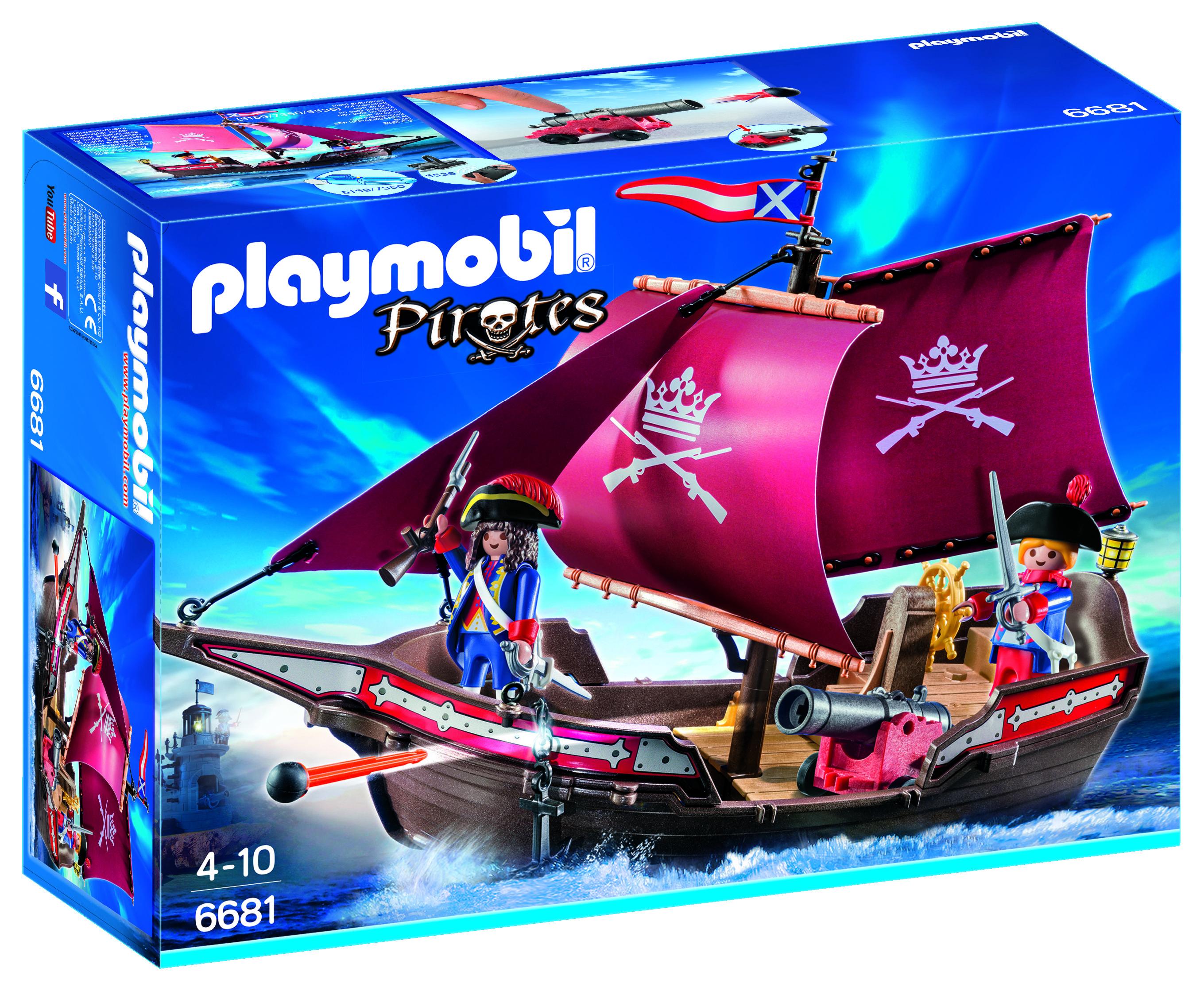 Chaloupe des soldats - Playmobil - 6681