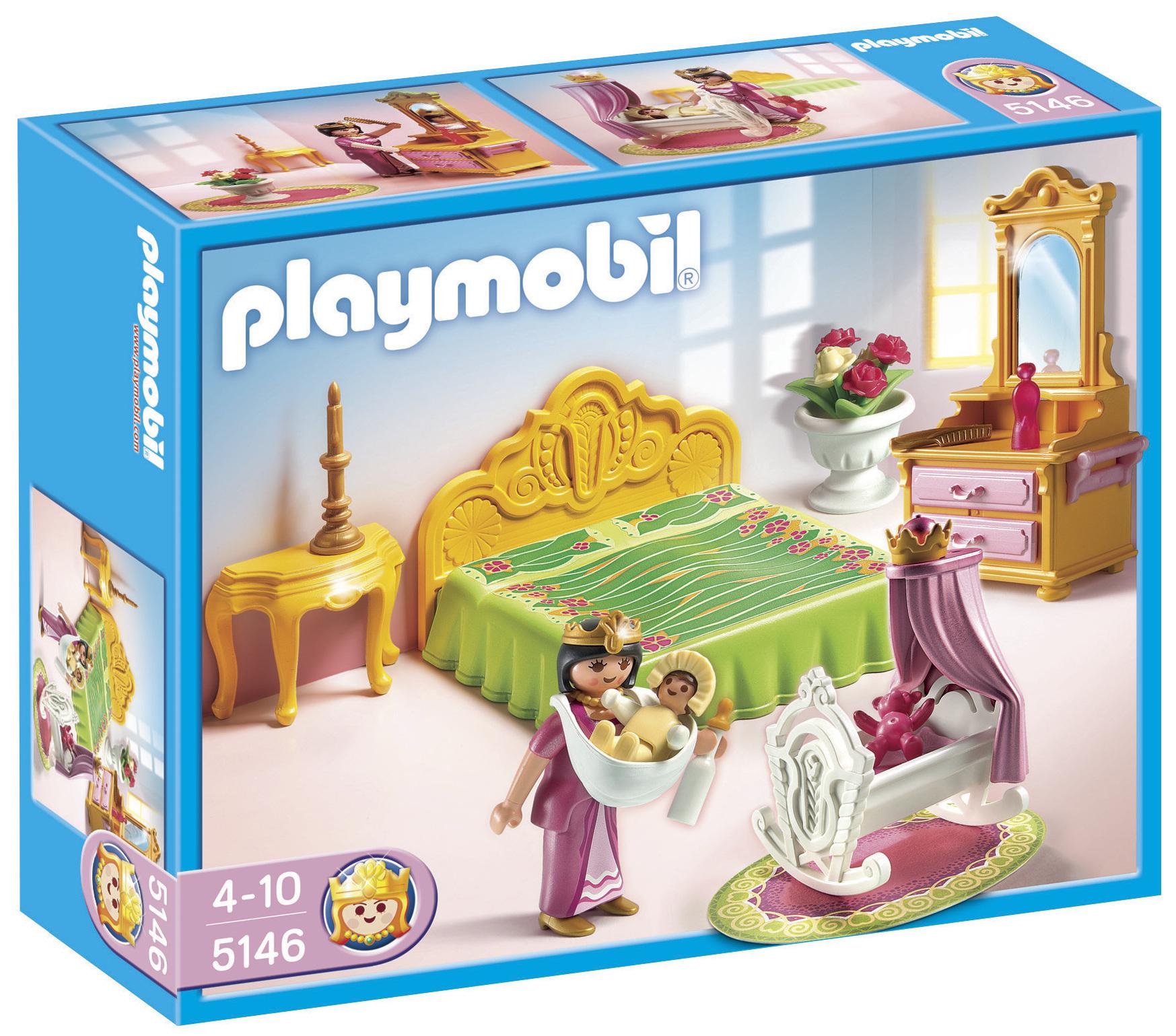 Chambre de la reine - Playmobil 5146