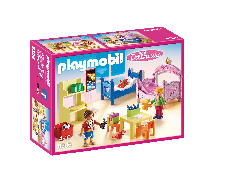 Chambre d'enfants avec lits superposés - Playmobil - 5306