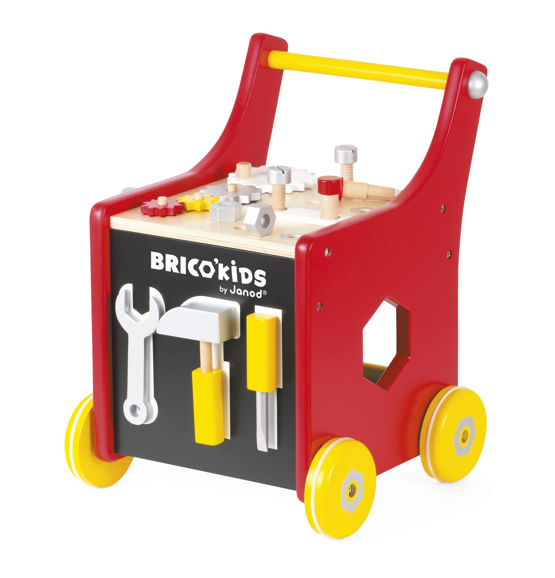 Chariot Bricolo Redmaster - bois