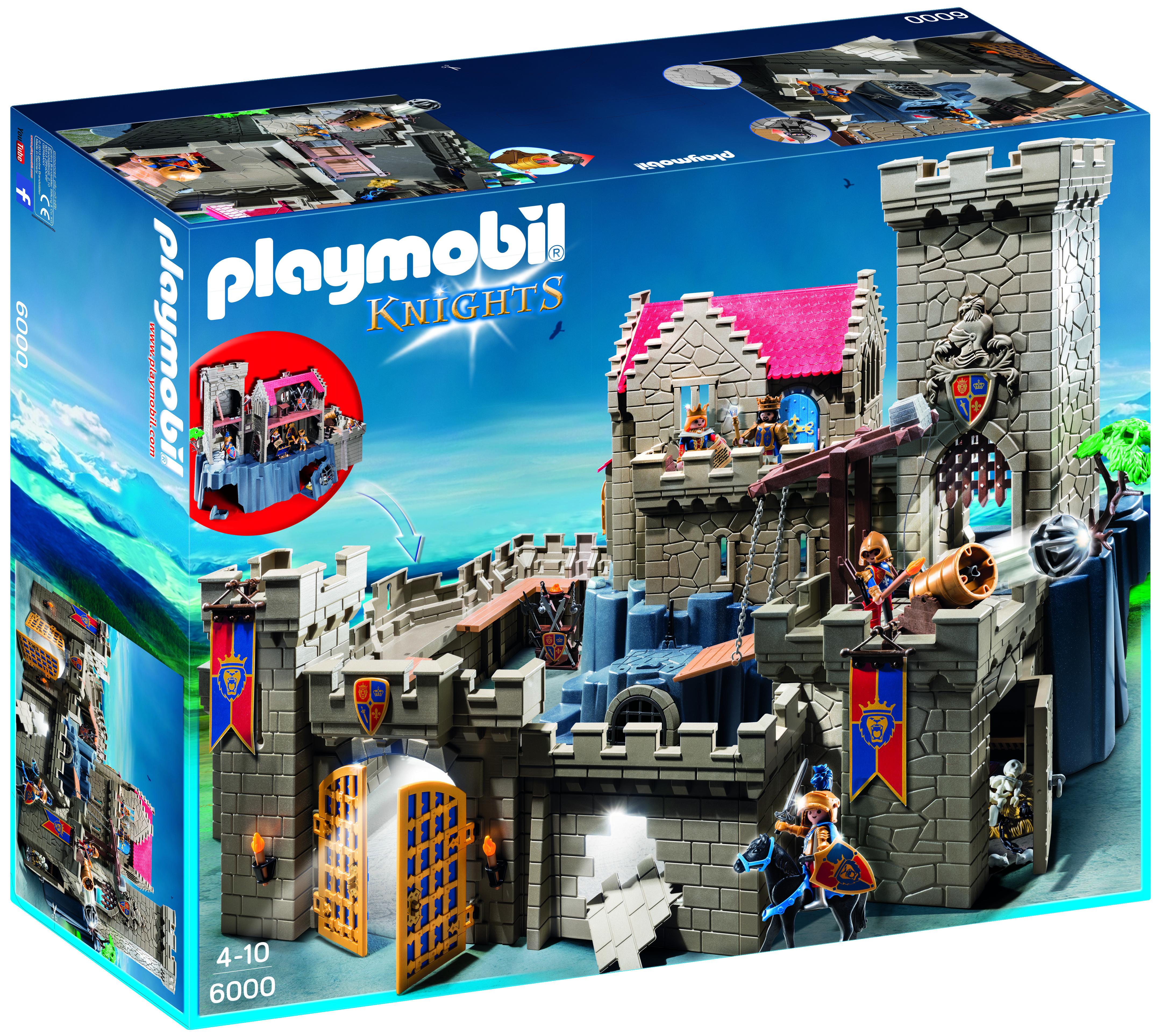 Château des chevaliers du Lion Impérial - Playmobil Knights - 6000