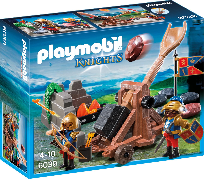 Chevaliers du Lion Impérial avec catapulte - Playmobil Knights - 6039