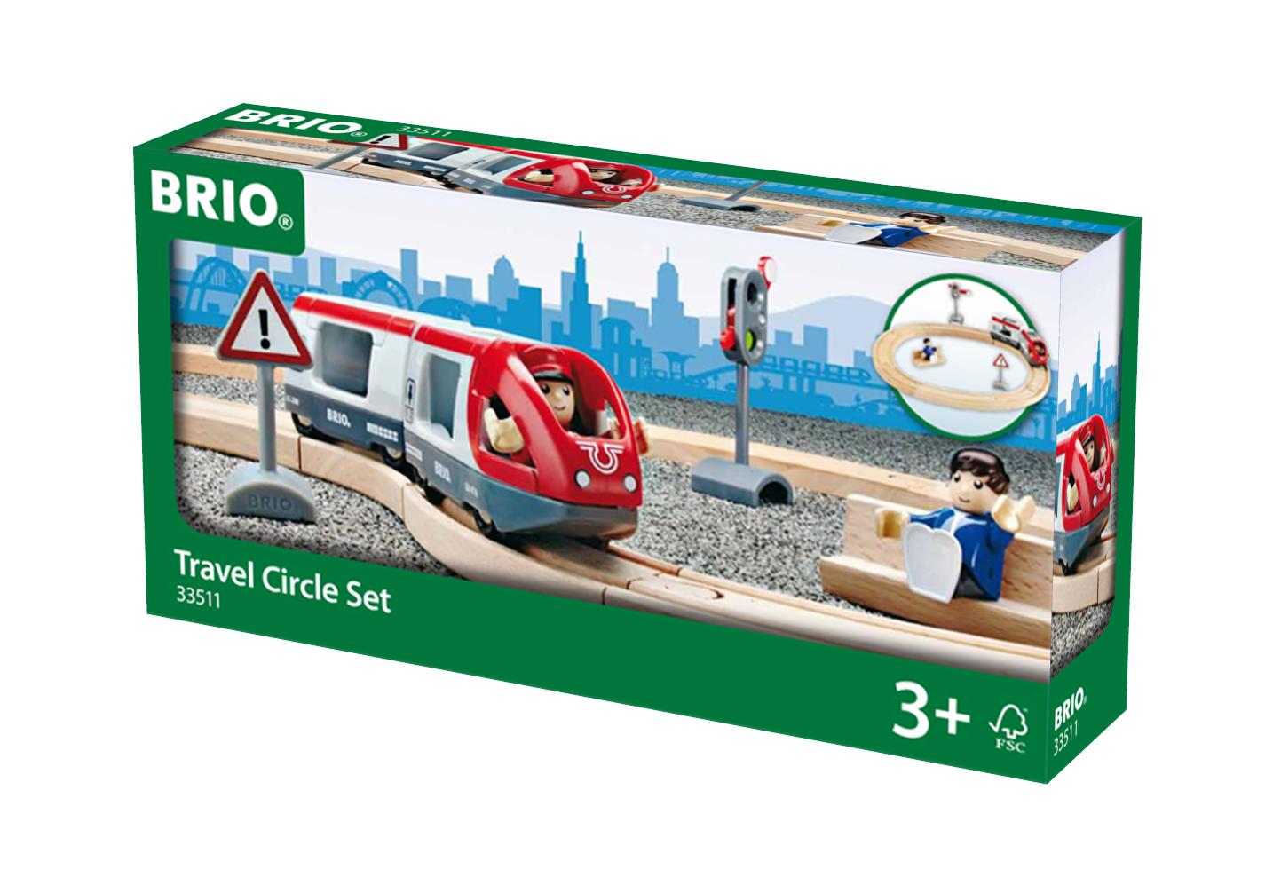 Circuit voyageur - Brio