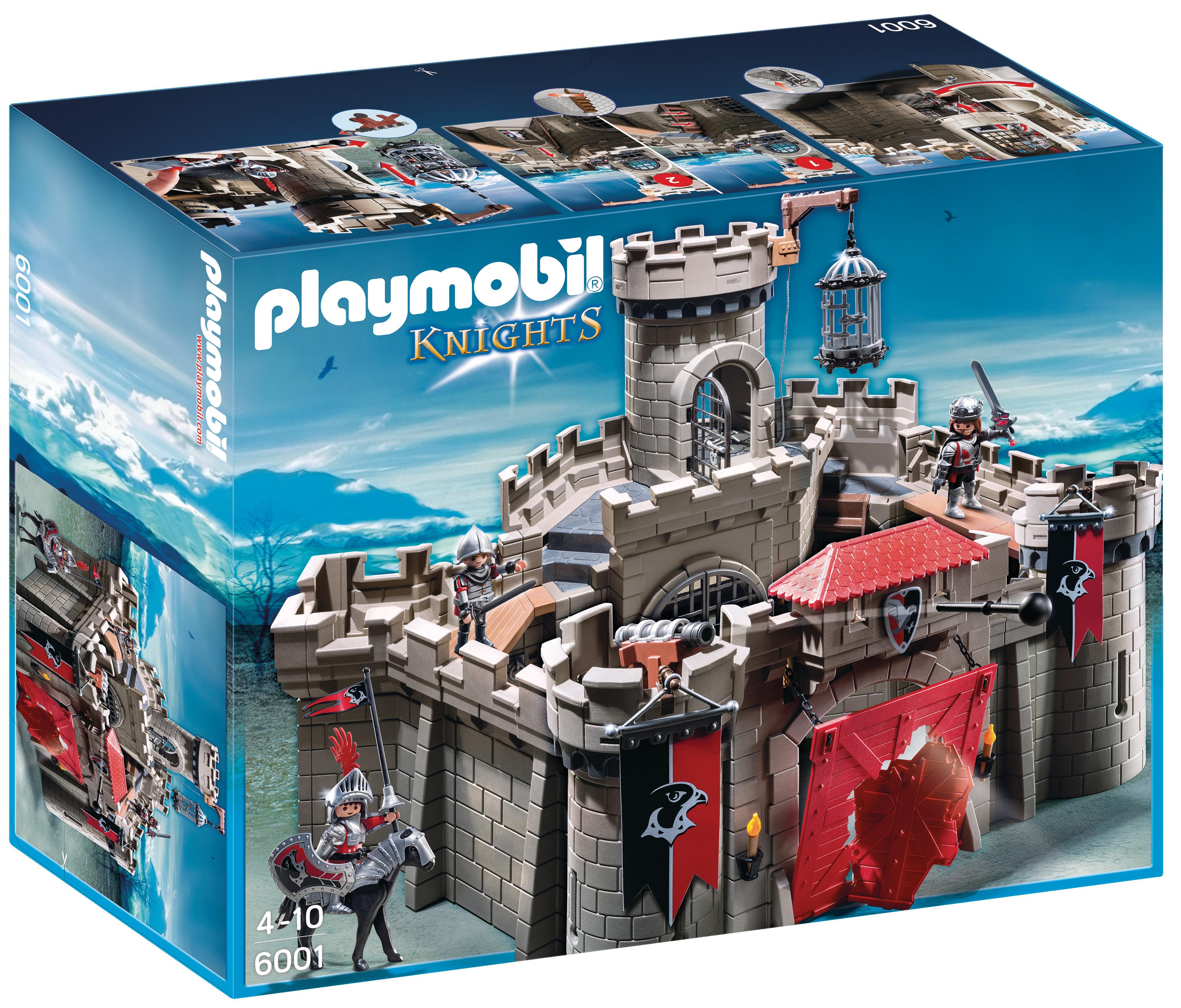 Citadelle des chevaliers de l'Aigle - Playmobil Knights - 6001