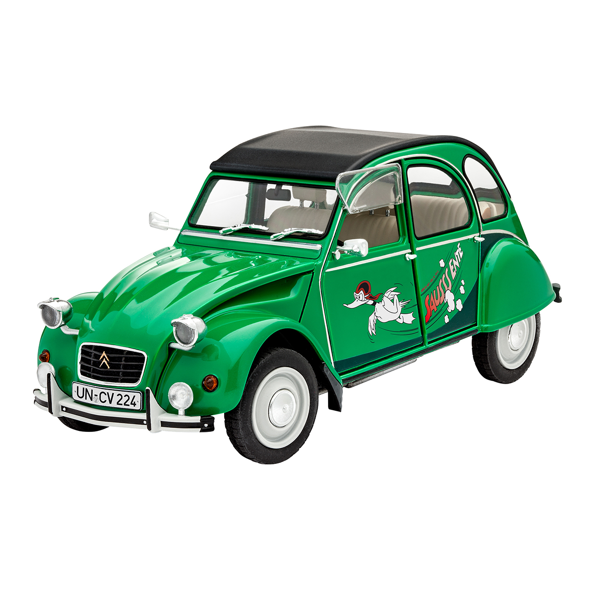 Maquette voiture - Citroën - 2CV Sausss Ente