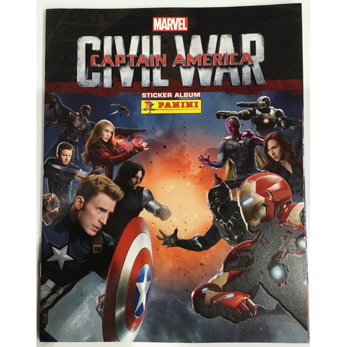 Album Panini - Captain America - Civil War