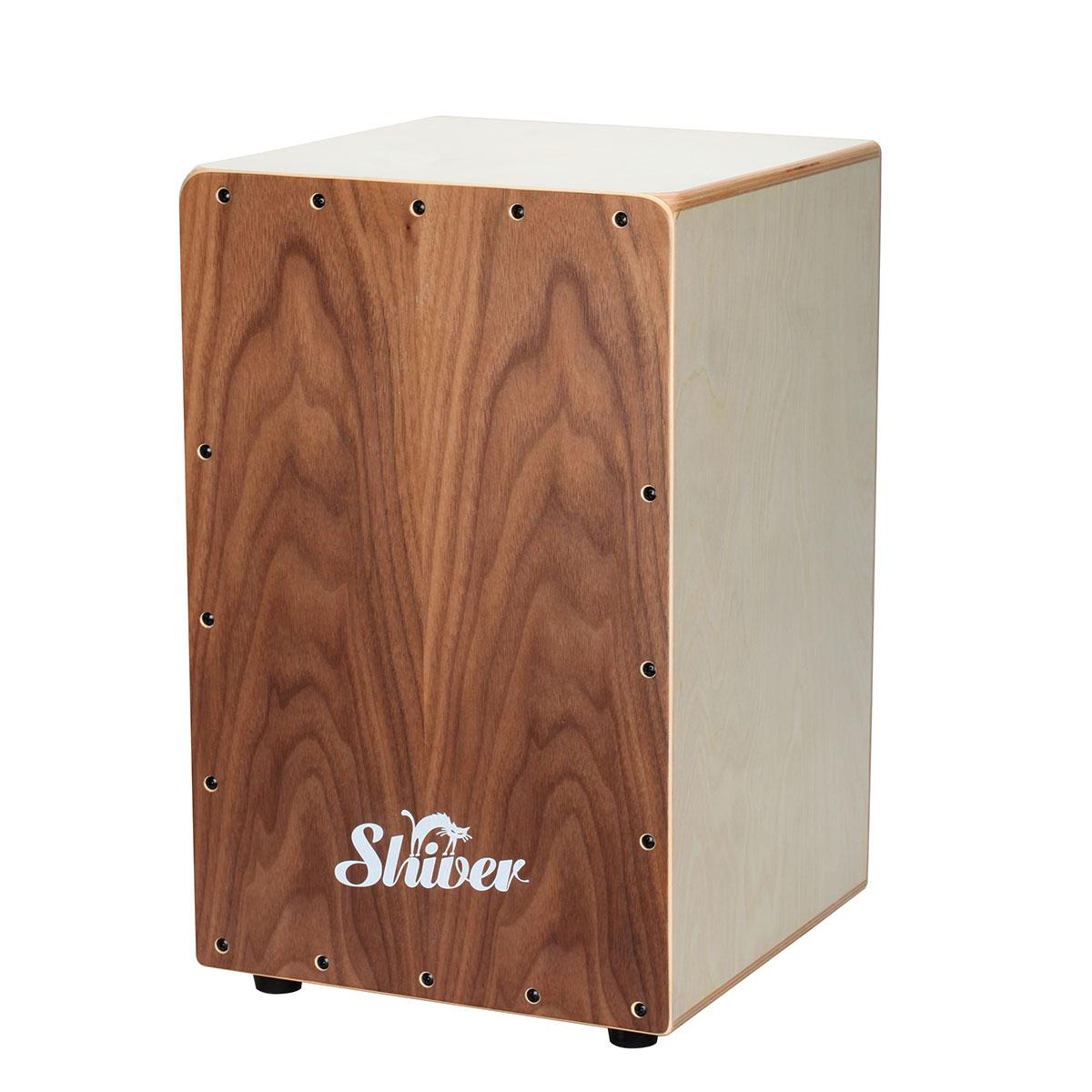 Shiver - CJS 30 Cajon noyer + housse