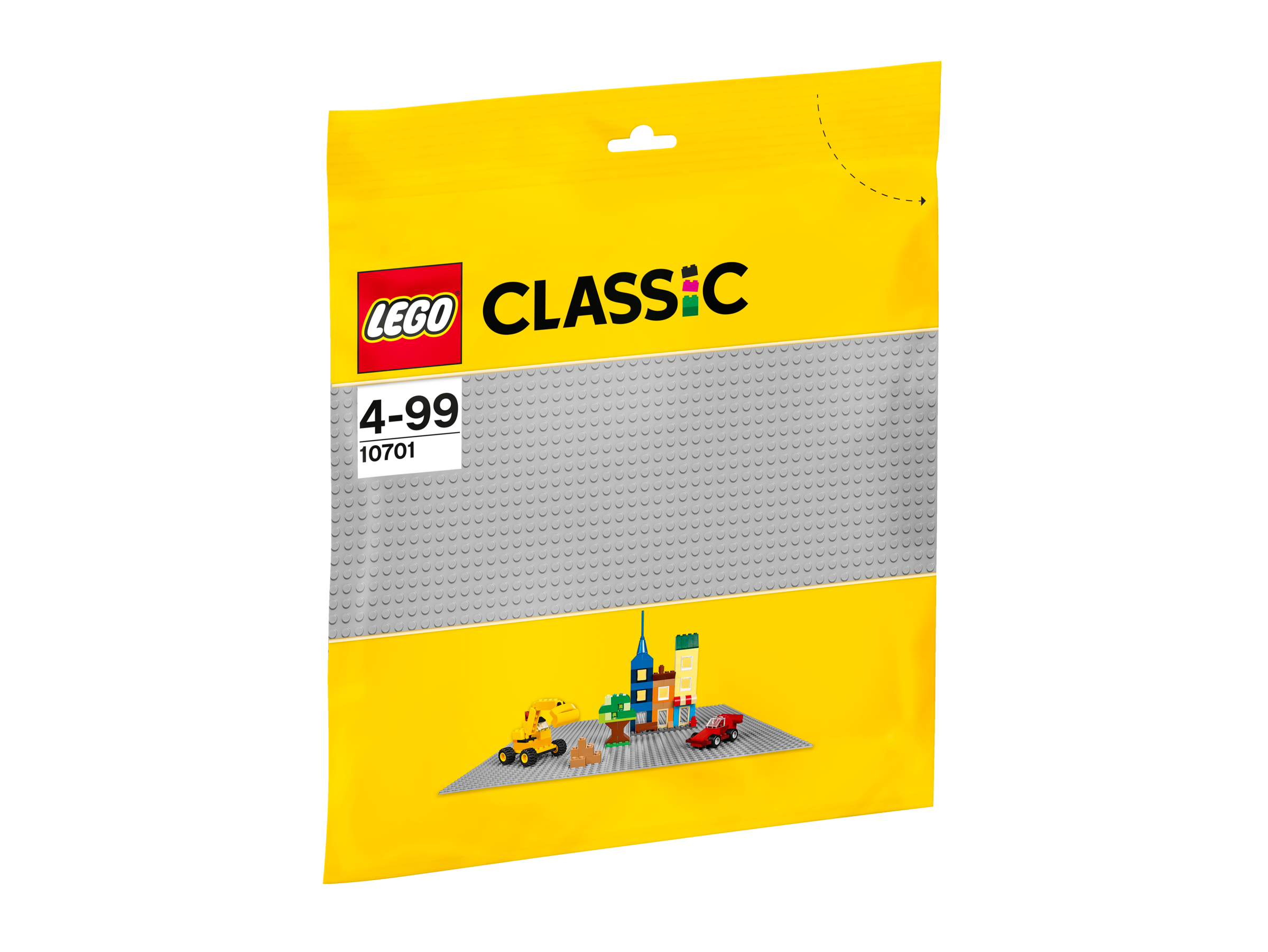 La plaque de base grise - LEGO® Bricks & More - 10701
