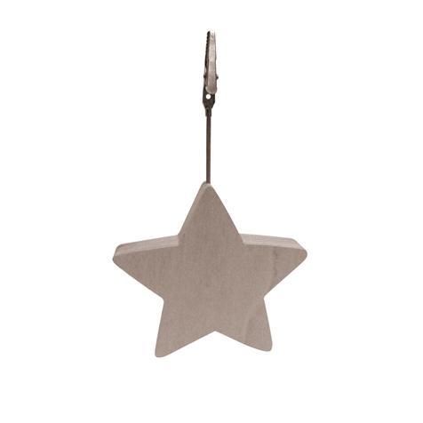 Clip mémo «étoile»