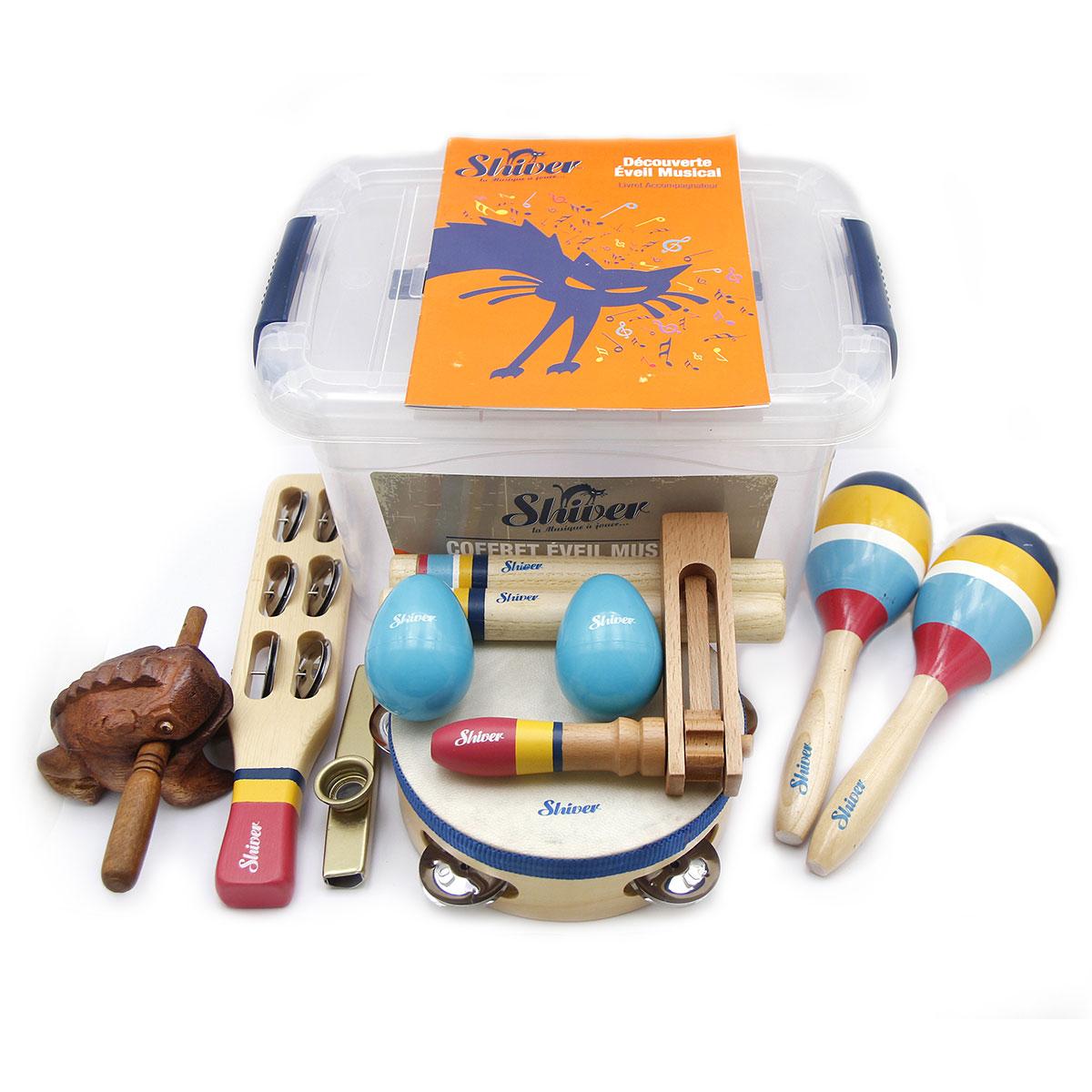 Coffret d\'éveil musical 9 instruments - Shiver
