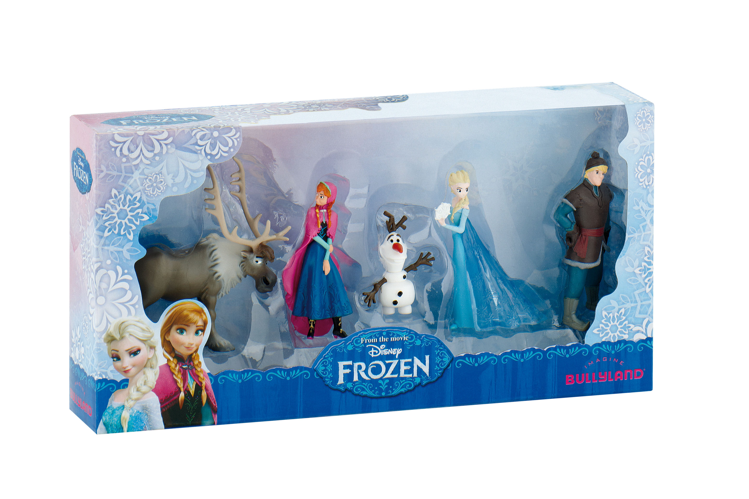 Coffret 5 mini-figurines La Reine Des Neiges - Disney