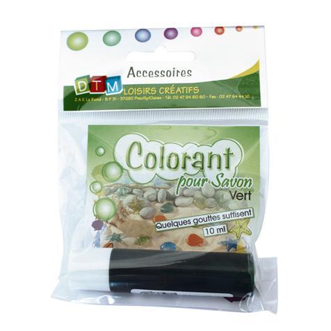 Colorant savon vert 10ml