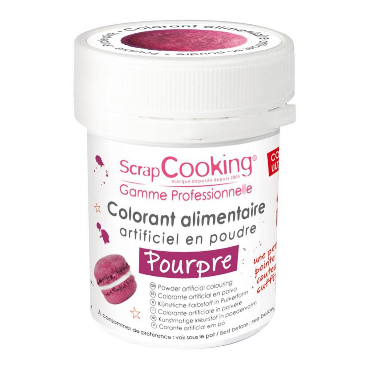 Image du produit Colorant artificiel en poudre - pourpre - 5g - Scrapcooking