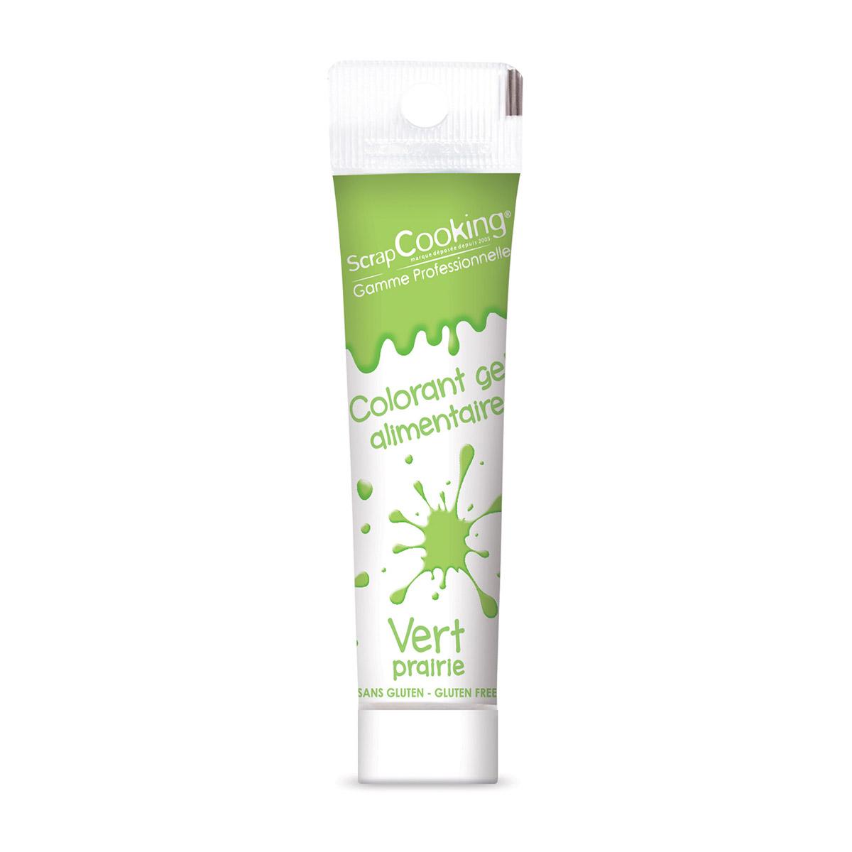 Image du produit Colorant gel vert clair 20g - Scrapcooking
