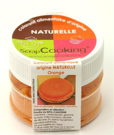 Image du produit Colorant alimentaire d'origine naturelle - orange - Scrapcooking