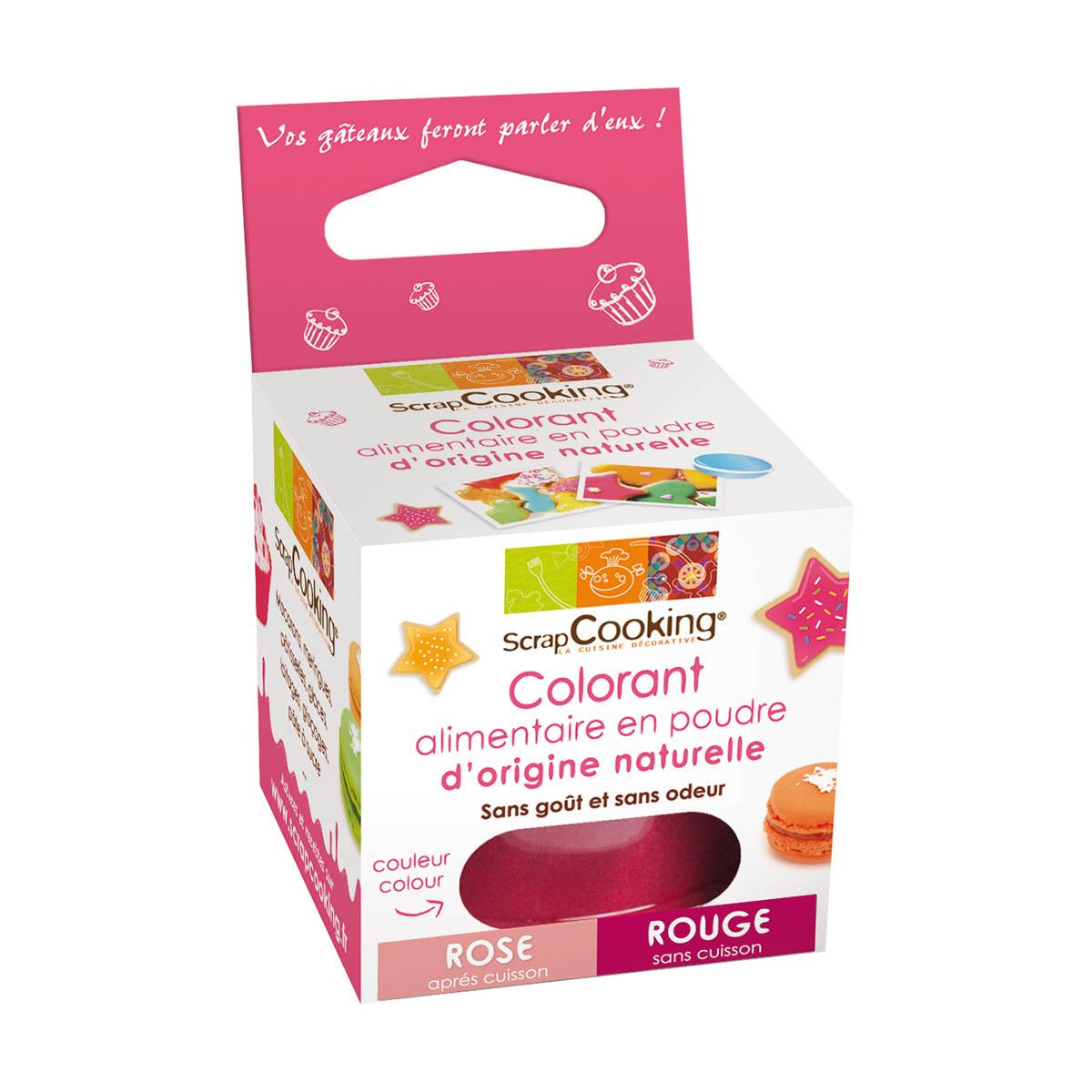 Image du produit Colorant alimentaire d'origine naturelle - rouge - Scrapcooking
