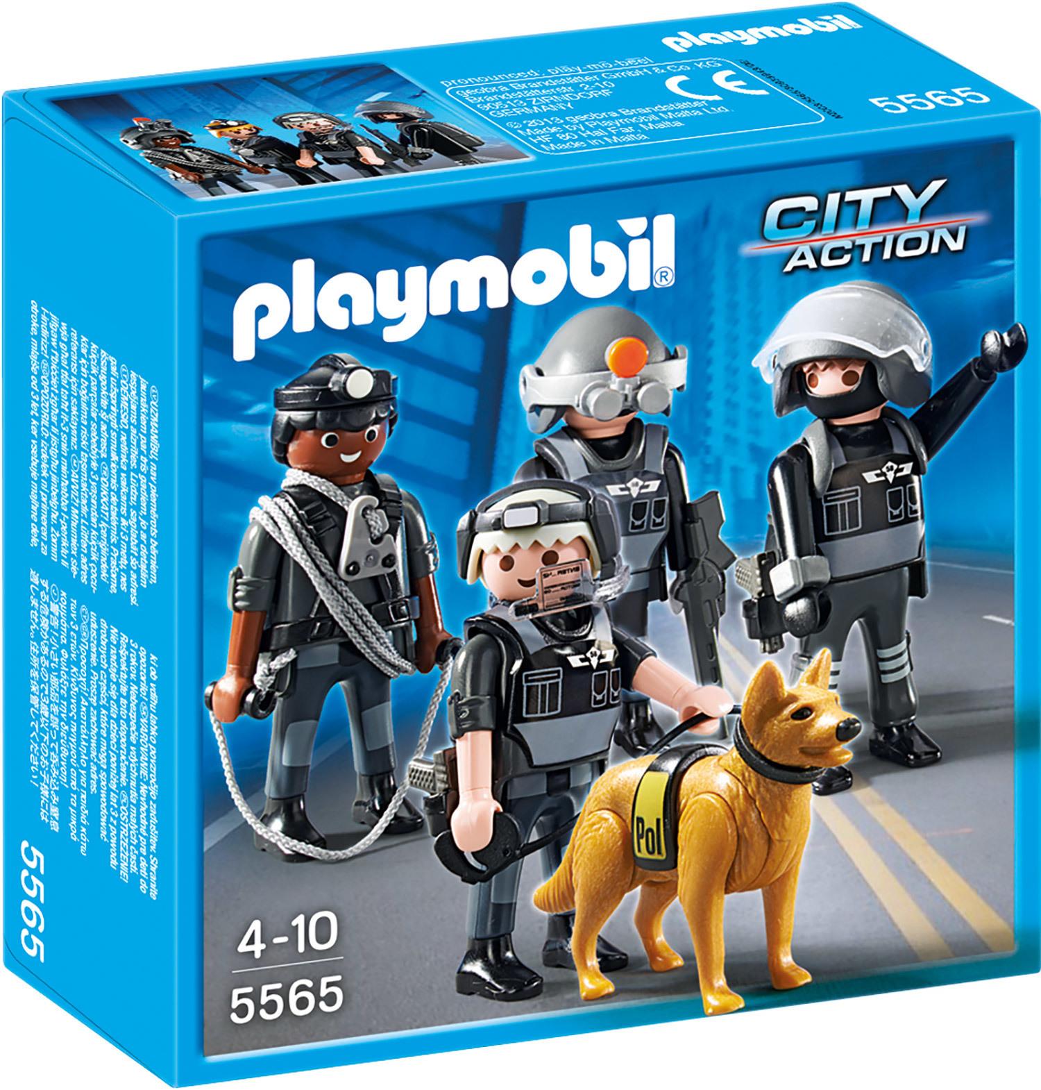 Commando des forces spéciales - Playmobil City Action - 5565
