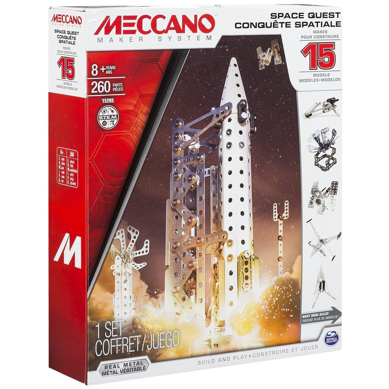 Conquête spatiale 15 modèles - 6026302 - Meccano