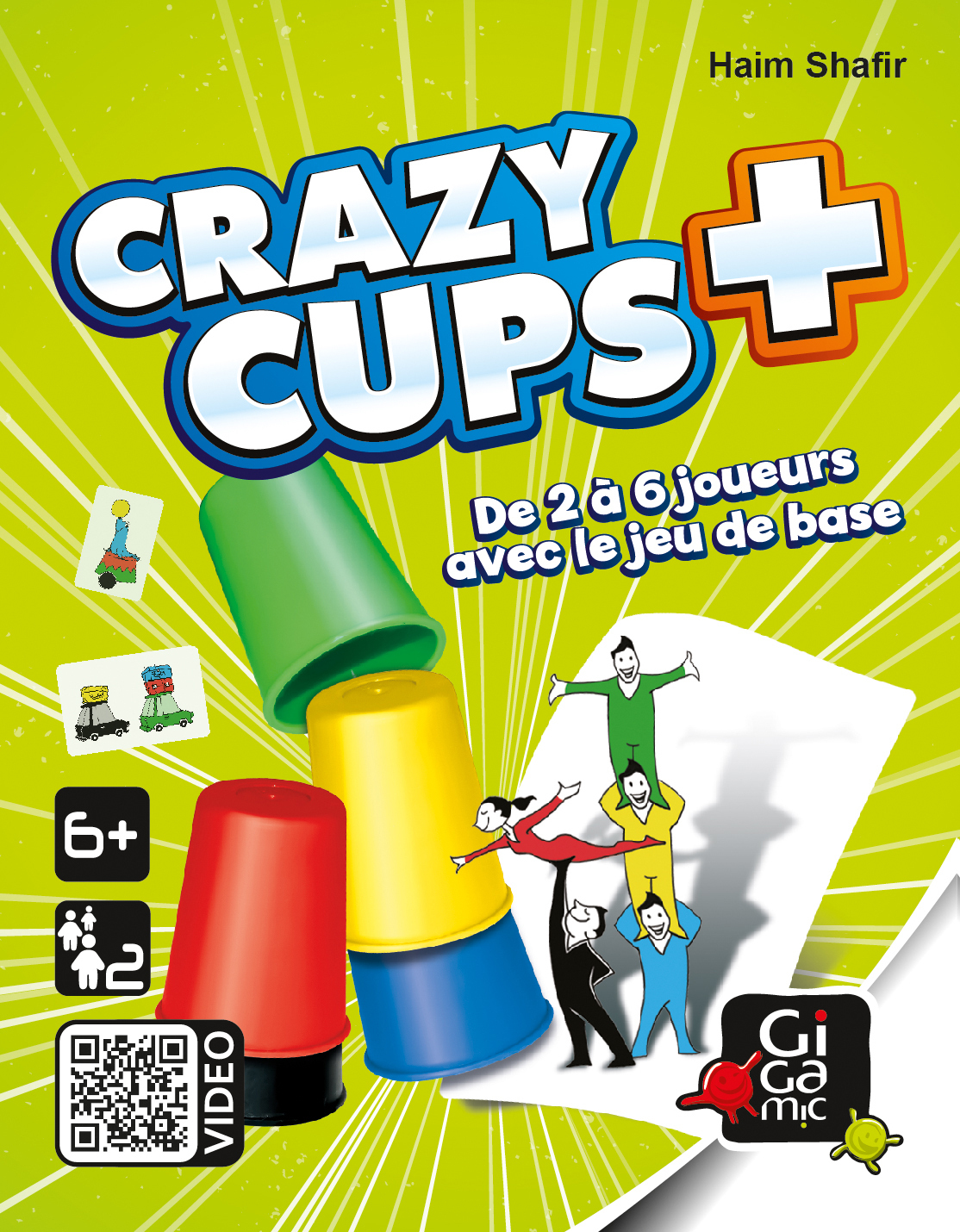Crazy cup plus - Gigamic
