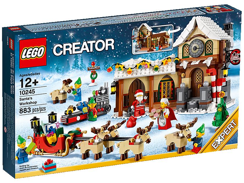 L'atelier du Père Noël - LEGO® Creator