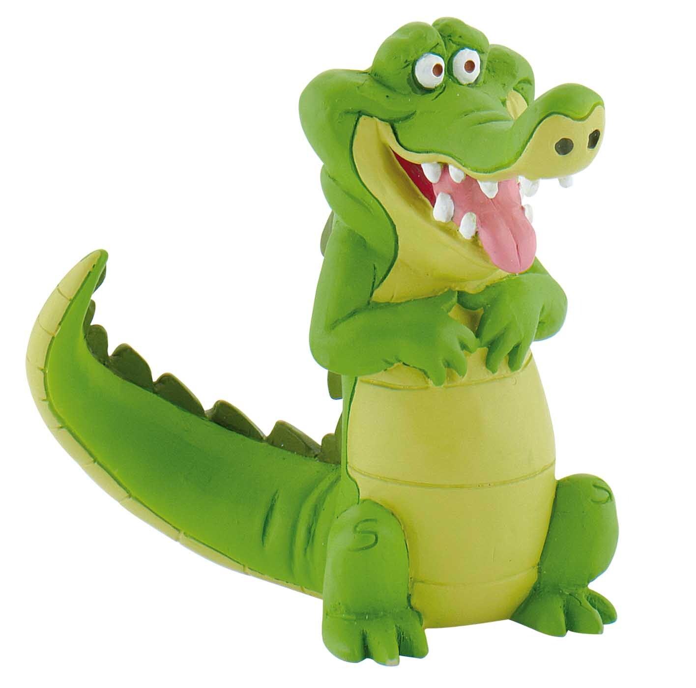 Figurine Jake et les pirates Disney - Crocodile Tic Tac - 7 cm