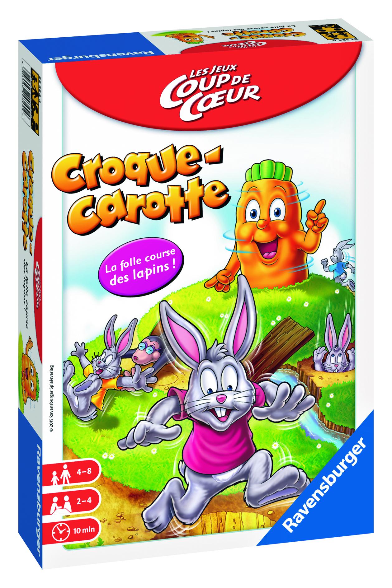 Croque-Carotte - Les Jeux Coup de Coeur - Ravensburger