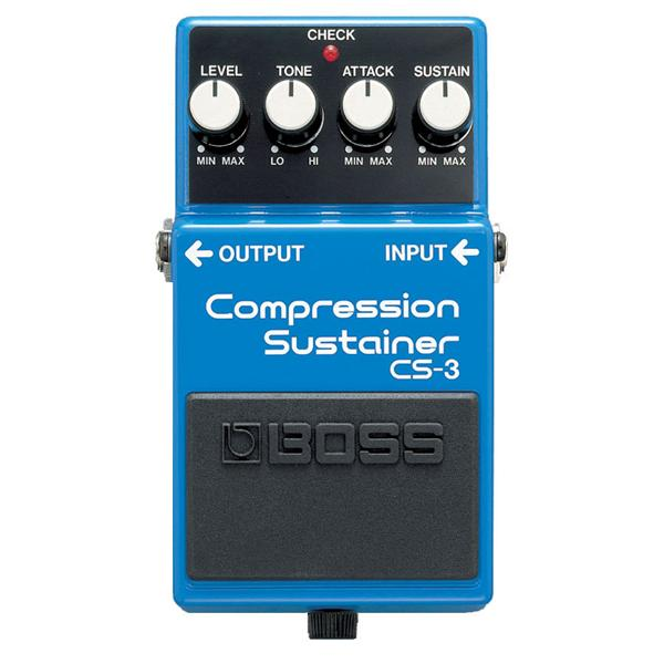Boss - Pédale CS-3 : Compression Sustainer