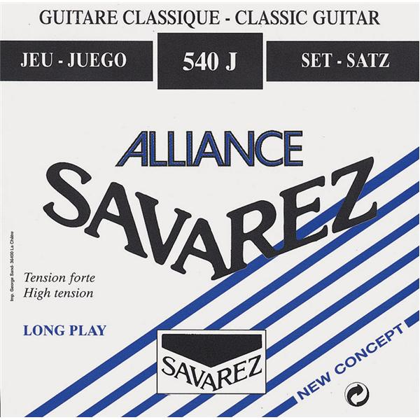 Savarez - Jeu de cordes - 540J Alliance