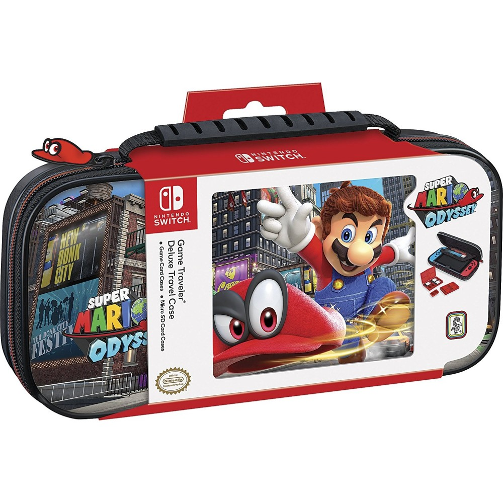 pochette de transport mario odyssey pour nintendo switch. Black Bedroom Furniture Sets. Home Design Ideas