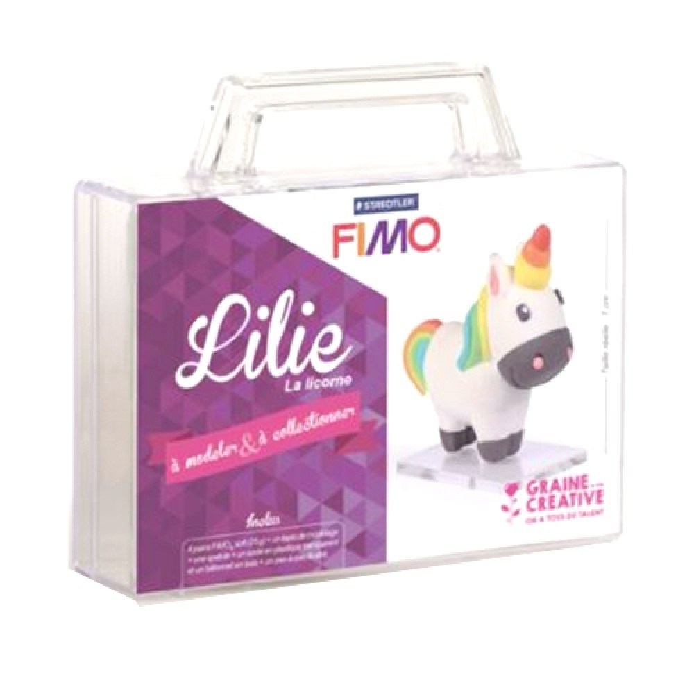 Decoration Gateau Licorne Cultura: Valisette Figurine Fimo