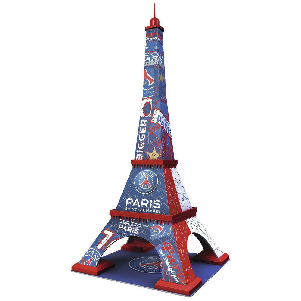 puzzle 3d psg tour eiffel jouets activit s cr atives puzzle ball cultura. Black Bedroom Furniture Sets. Home Design Ideas