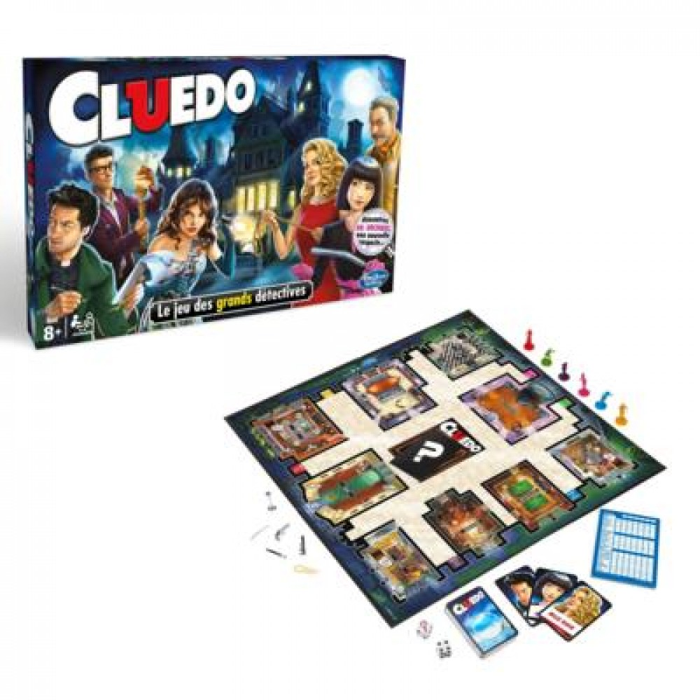 Cluedo Strategie