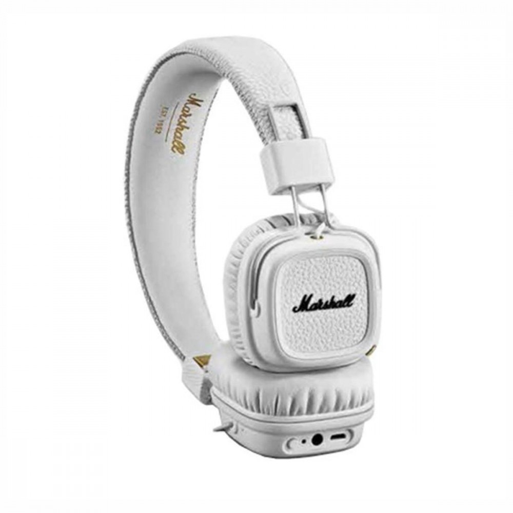 marshall major iii casque audio bluetooth blanc