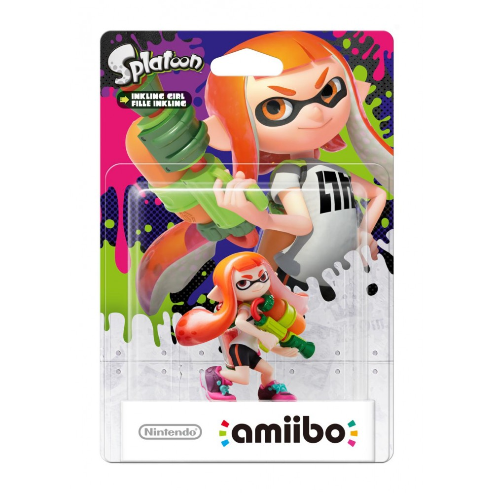 Amiibo Fille Inkling Collection Splatoon Figurines Et