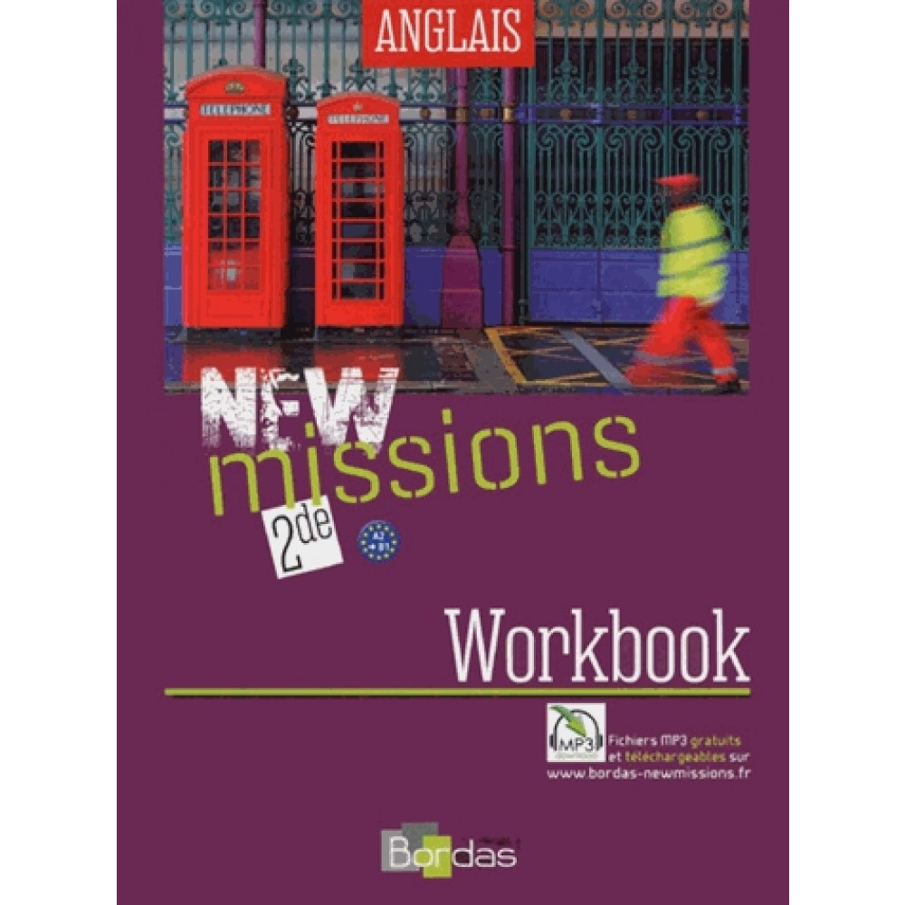 Anglais 2e New Missions Workbook